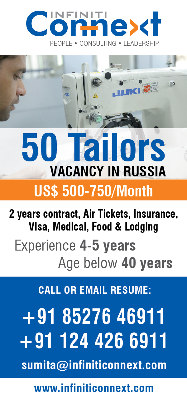Tailors in russia
